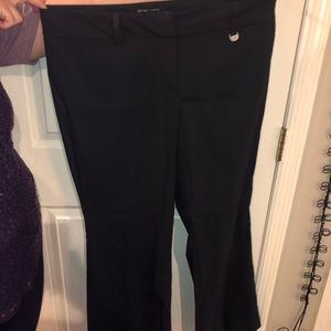 New York and Co black bootleg pants size 12